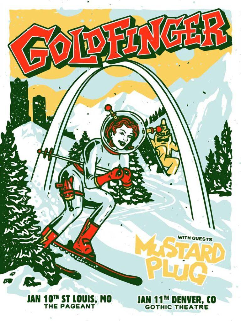 Goldfinger 2020 Tour